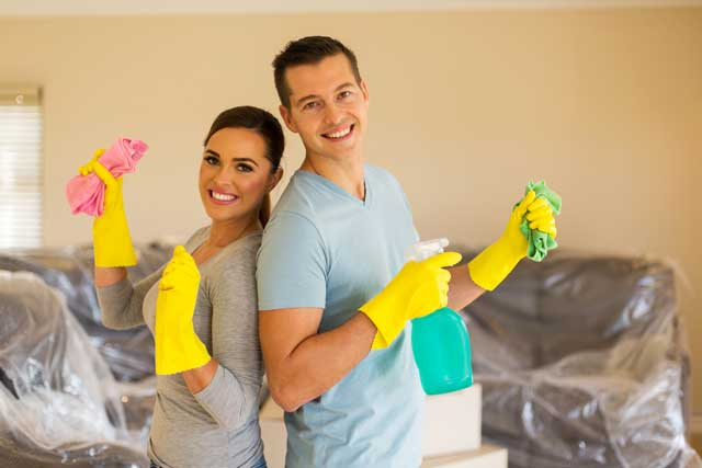 5 Tips for Cleaning a Place Before You Move In