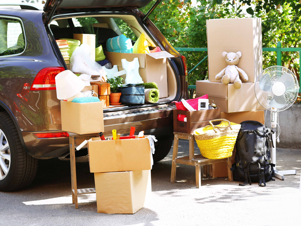 7 Tips For Packing Your Car On Moving Day