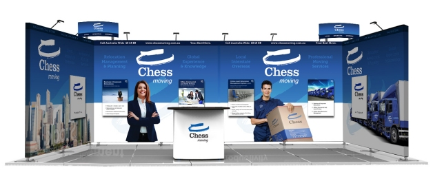 Chess Moving Australia Facilities Management Stand